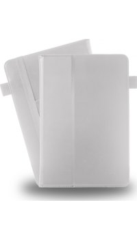 Azuri book case with stand function and card slots - white - for all 10 inch tab