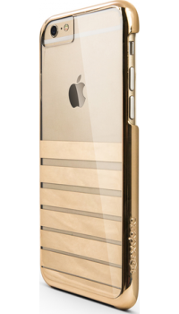 X-Doria cover stripes - gold - for iPhone 6/6S
