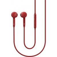 Samsung stereo headset - 3.5mm in-ear - rood