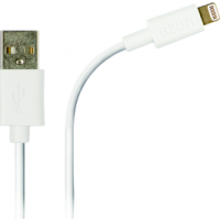Azuri USB cable with Apple lightning connector - white